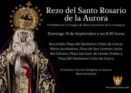 Rezo del Santo Rosario de la Aurora